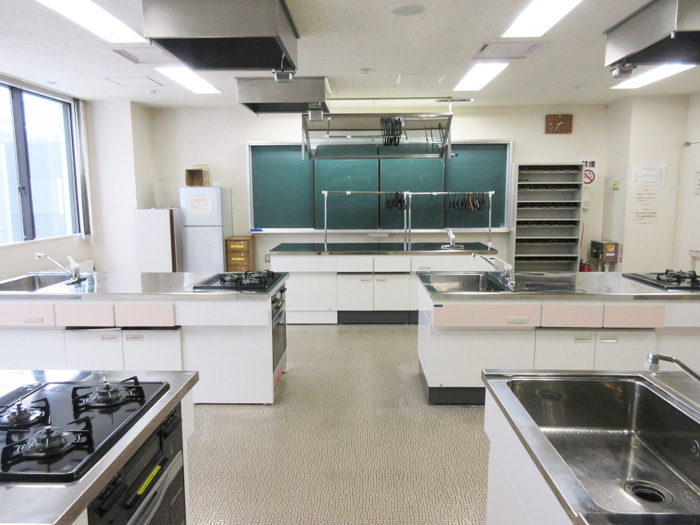 調理実習室1枚目の写真