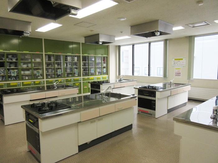 調理実習室2枚目の写真
