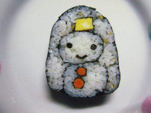 12月4日 「はじめての飾り巻き寿司~雪だるま」開講
