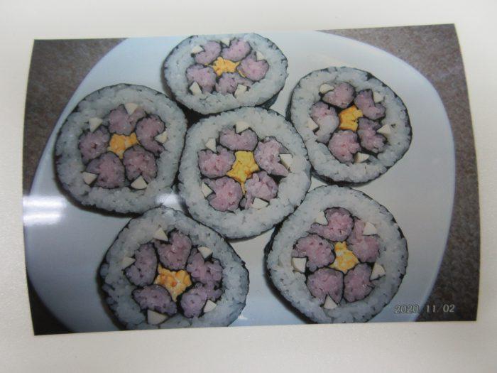 巻き寿司 桜